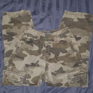 Kids Army Fatigue cargo pants
